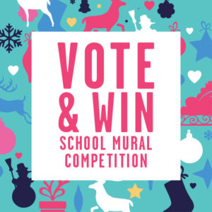 School Mural Competition-Vote Holy Name!